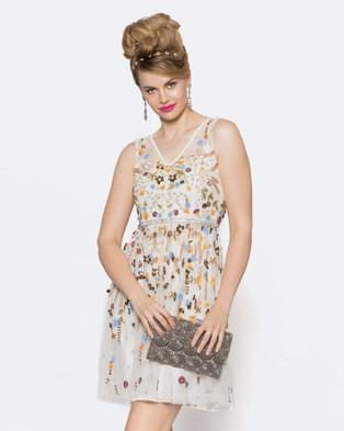 Alannah Hill – I Am A Dancing Queen Dress Cream