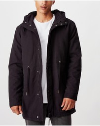 Cotton On - Hooded Parka