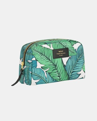 WOUF Big Beauty Bag - Bags & Tools (Blue Green)