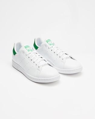 adidas Originals Stan Smith Vegan   Unisex - Sneakers (White & Green)