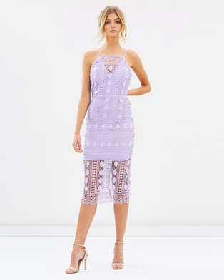Chi Chi London – Arsha Dress – Dresses (Purple)