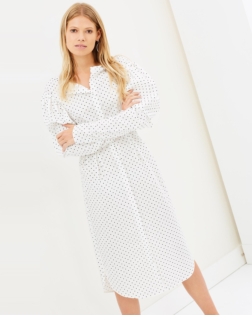 Georgia Alice Desert Shirt Dress Printed Dresses Polka Dot Desert Shirt Dress
