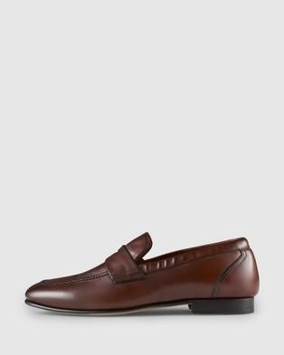 Aquila Lineker Loafers - Dress Shoes (Testa Di Moro)
