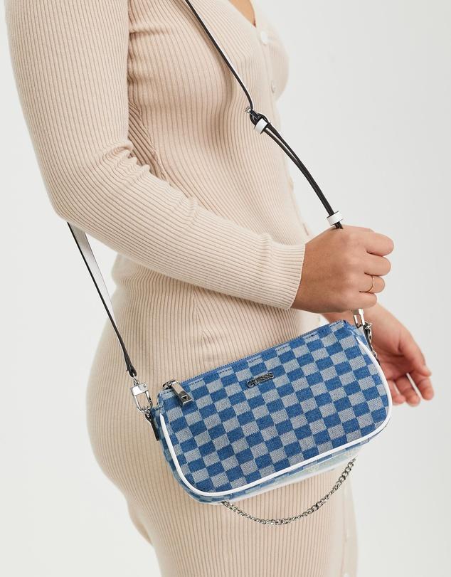 Women Arie Double Pouch Crossbody Bag