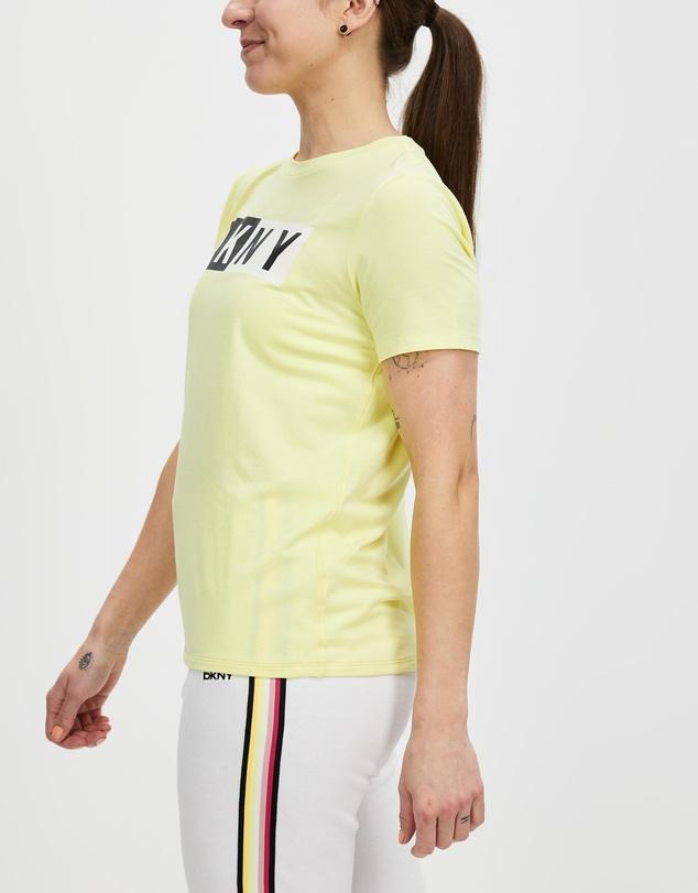 Women Two Tone Logo Short Sleeve Tee