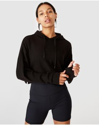 Cotton On Body Active - Rib Cropped Hoodie