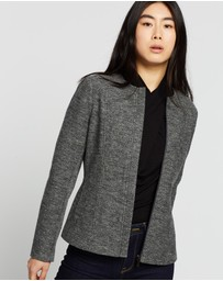 David Lawrence - Mari Felted Wool Biker Jacket