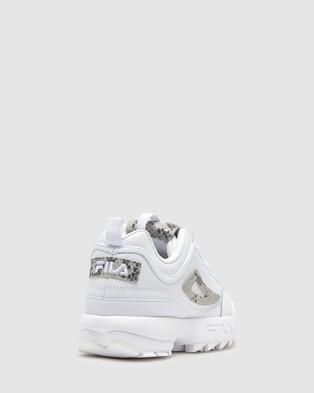 Fila Disruptor II Snake - Lifestyle Sneakers (White)