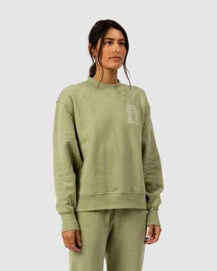 The Wolf Gang Lune Sweater Sweats (Green)