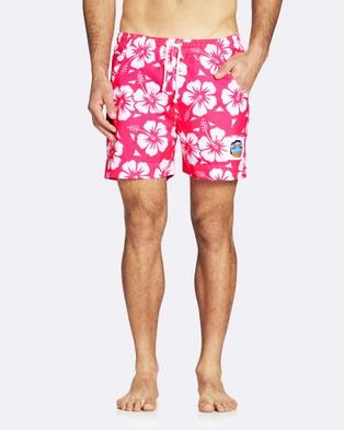 Okanui – Classic Short Shorts – Shorts (Glow Pink)