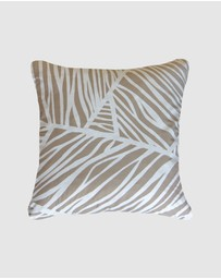 Bandhini Design - Earth Rivers Natural Lounge Cushion