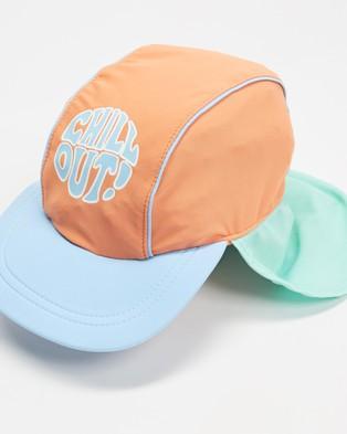 Cotton On Kids Swim Hat   Babies - Headwear (Dark Melon Chill Out)