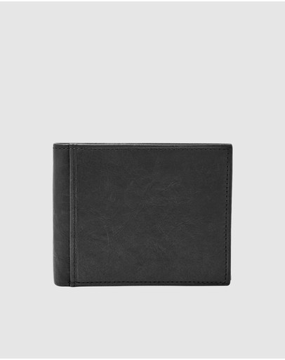 Fossil - Ingram Black Bifold Wallet
