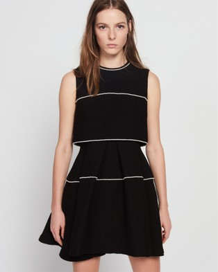 Sandro – Pearl Dress Black