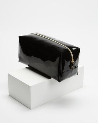 Ted Baker Haiyley Bow Washbag Travel and Luggage Black