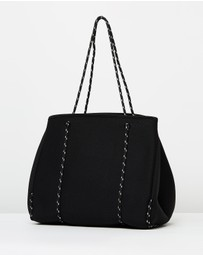 D-LUXE Basics by Decjuba - Luxe Punched Neoprene Tote Bag