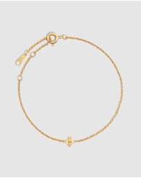 Molten Store - The Gold Tiny Bumble Bee Bracelet