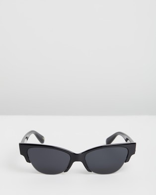Local Supply Skyline - Sunglasses (Gloss Black & Black Tint)