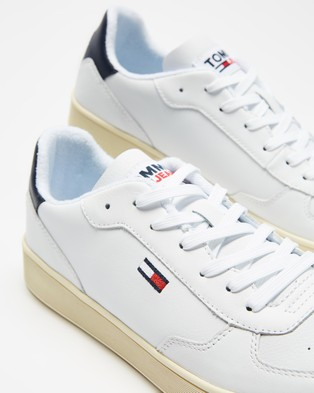 Tommy Hilfiger Essential Cupsole Trainers   Men's - Sneakers (White)