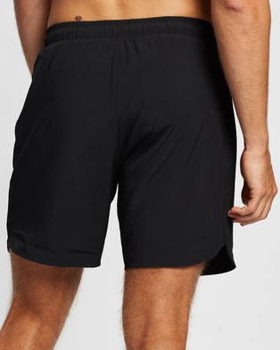 Lyle and Scott 7 Inch Training Shorts True Black 7-Inch