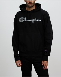 Champion - THE ICONIC EXCLUSIVE - Tonal Marble Reverse Weave Hoodie