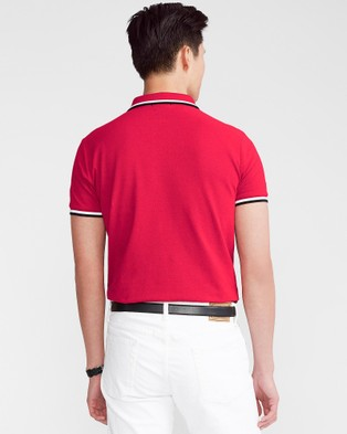 Polo Ralph Lauren Basic Mesh Short Sleeve Knit Polo - Shirts & Polos (Ralph Red)