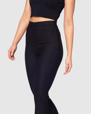 Pilgrim Lisa Pants - Pants (Black)