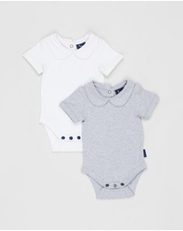 Pappe - 2-Pack Bowhill SS Bodysuit - Babies