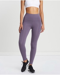 Running Bare - Ab Waisted Power Moves Tights