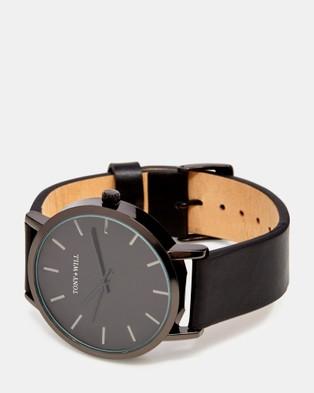 TONY+WILL Classic - Watches (BLACK / BLACK / BLACK)