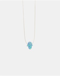 Native Sol - Floating Opal Hamsa