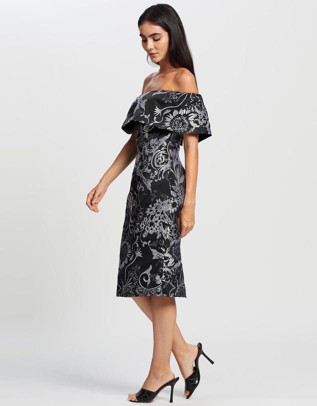Women Shine Off The Shoulder Dress