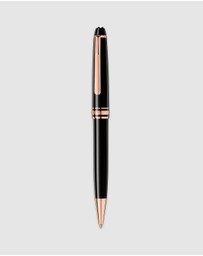 Montblanc - Meisterstück Rose Gold-Coated Classique Ballpoint Pen