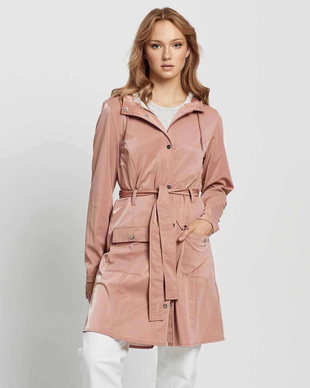 RAINS Curve Jacket Accessories Blush