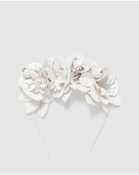 Forever New - Penelope Pu Flower Bud Crown