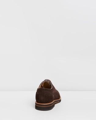 Double Oak Mills Paige Suede Brogues - Dress Shoes (Brown)