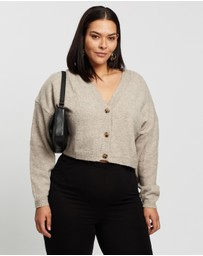 Missguided Curve - Recycled Cardi Co-Ord Knit