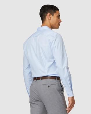 Jack London Blue Formal Shirt - Casual shirts (Blue)