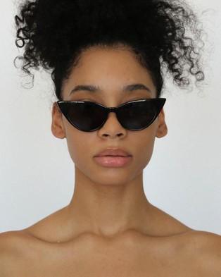 Lu Goldie Brigitte - Sunglasses (Black)