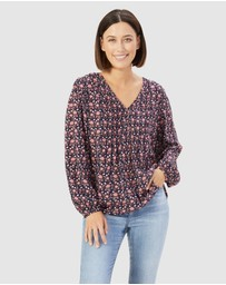 French Connection - Boho Floral Top