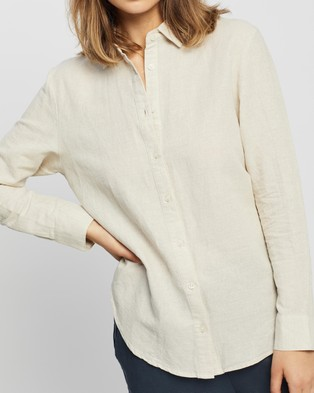 Nude Lucy Nude Classic Shirt - Tops (Natural)