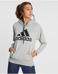 adidas Performance - Badge of Sport Long Hoodie - Women's