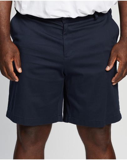 NAUTICA - Plus Flat Front Anchor Shorts