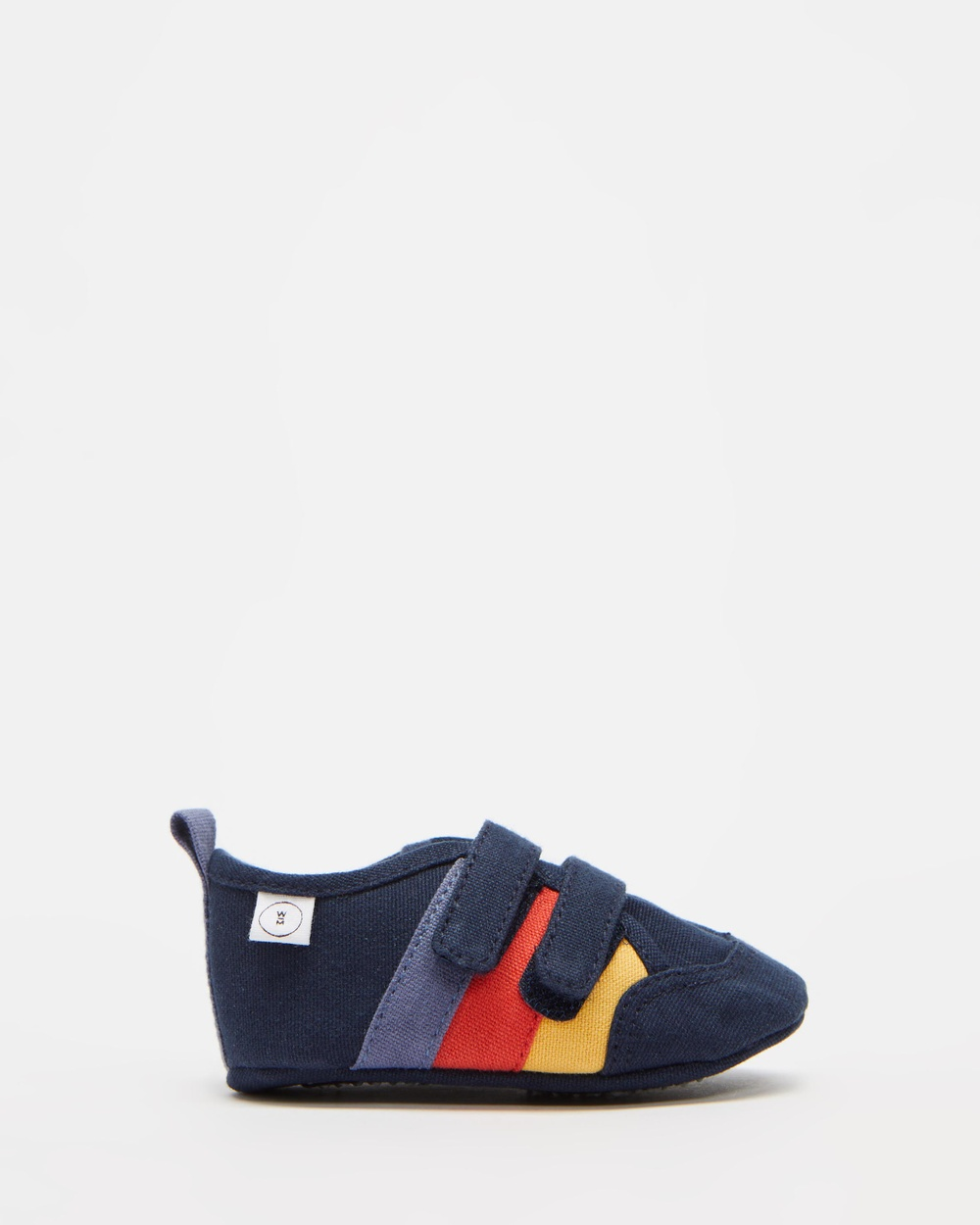 Walnut Melbourne Play Nate Retro Canvas Sneakers Babies Peacoat