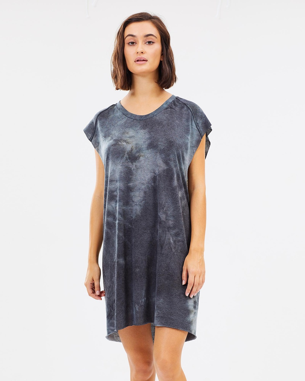 Surrounded By Ghosts The Borax Muscle Tee Dress Dresses Blue The Borax Muscle Tee Dress