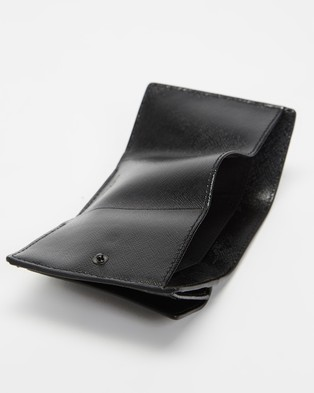 The Marc Jacobs Mini Trifold - Wallets (Black)