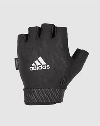 adidas Performance - Adidas Mens Adjustable Essential Training Gloves