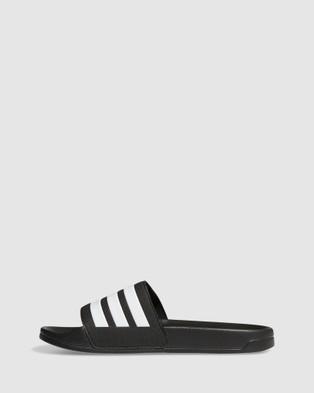adidas Performance - Adilette Shower Slides - Sandals (Black) Adilette Shower Slides