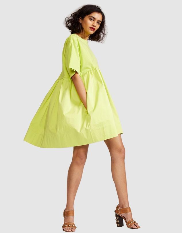 Women Bree Combo T-Shirt Dress