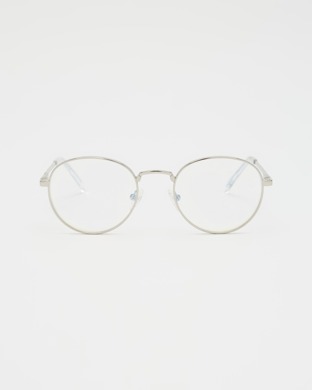 Le Specs Lost Legacy Blue Light Optical Silver